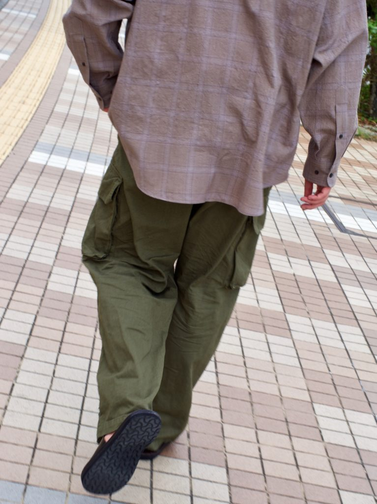 OUTIL ウティ CASELO カステロ 沖縄 那覇 安里 セレクトショップ M47 PANTALON BLESLE